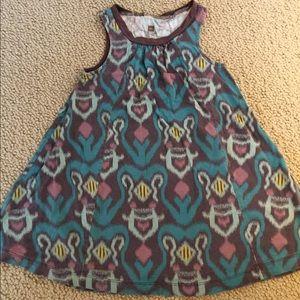 Ikat print dress